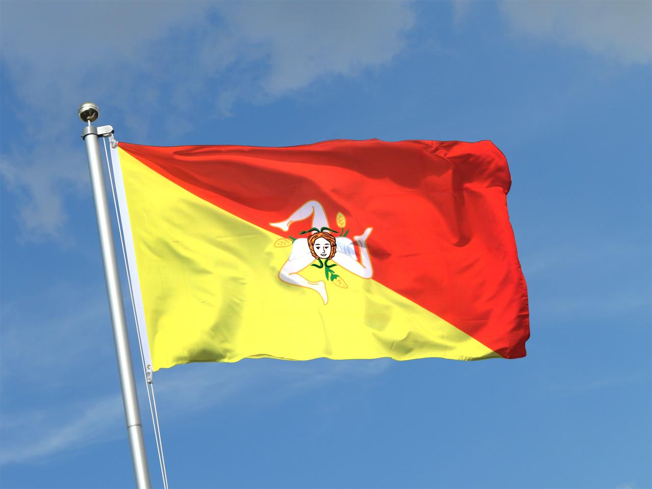 Buy italy sicily flag 3x5 ft 90x150 cm royal flags