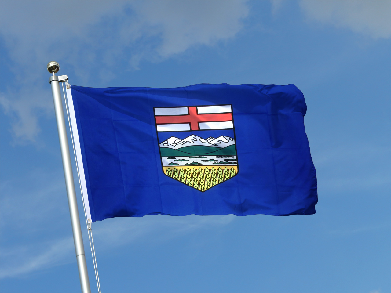 Buy Alberta Flag 3x5 Ft 90x150 Cm Royal Flags