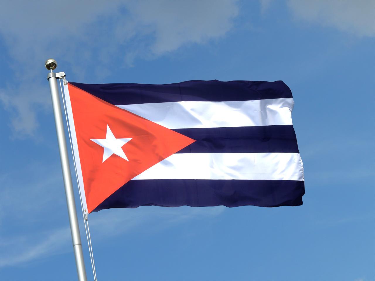 Kuba flagge 90 x 150 cm kaufen Kuba dekoration