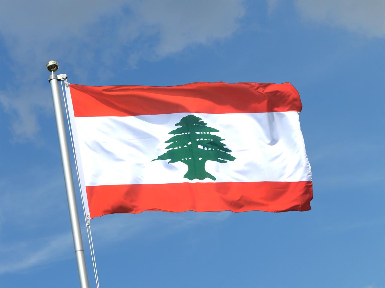 libanon flagge kaufen 90 x 150 cm flaggenplatz online shop. Black Bedroom Furniture Sets. Home Design Ideas