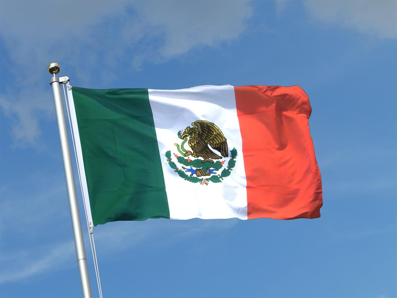 buy mexico flag 3x5 ft 90x150 cm royal flags