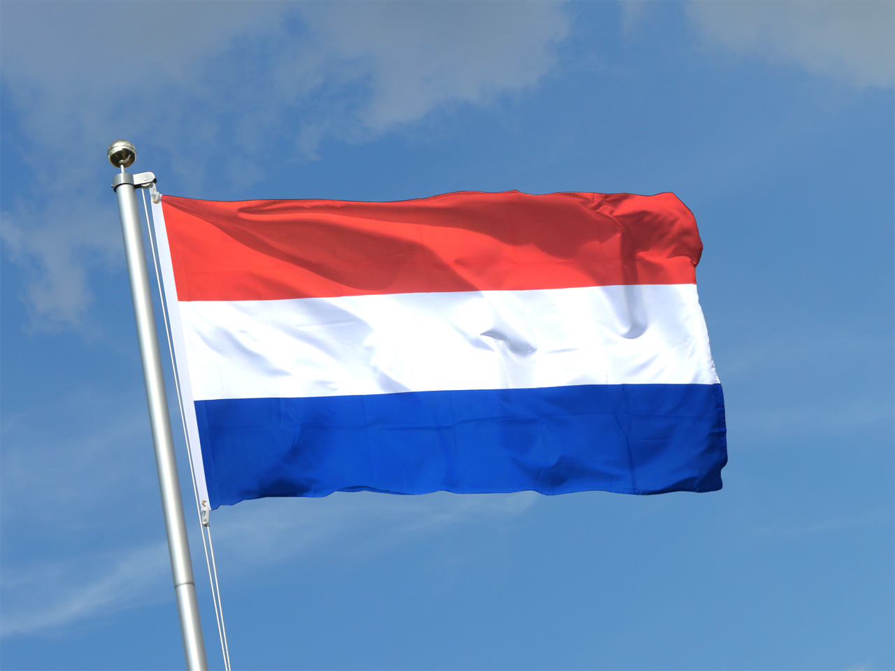 Niederländisch Flagge