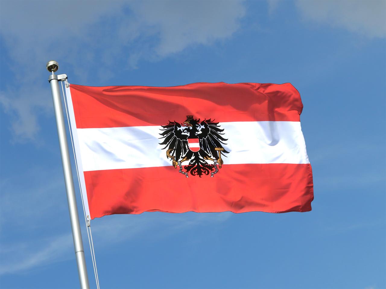 österreich Adler Flagge Kaufen 90 X 150 Cm Flaggenplatz Shop