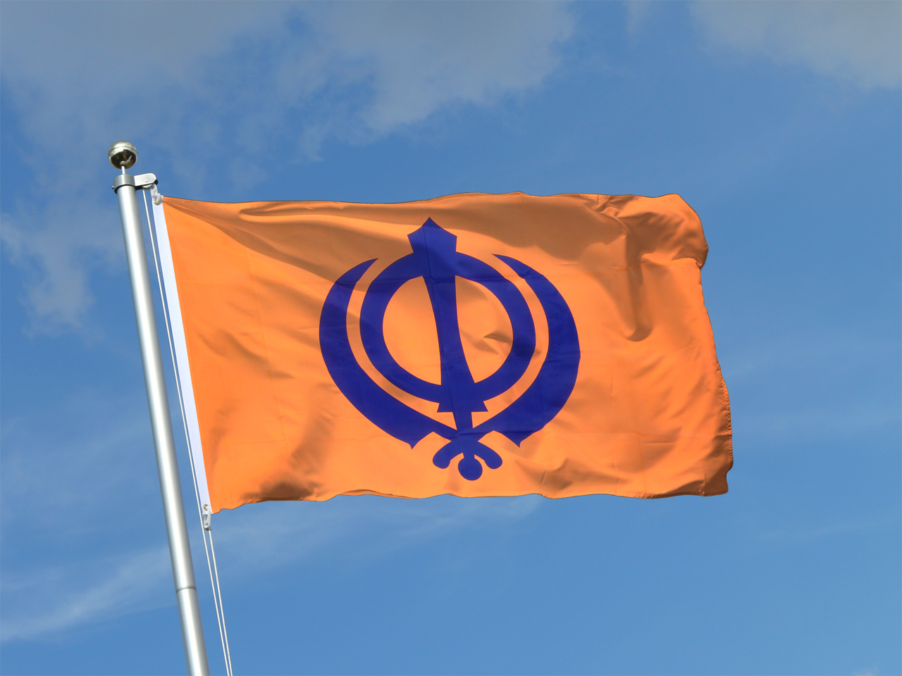 Sikhism 3x5 ft flag 90x150 cm royal flags for The flag is