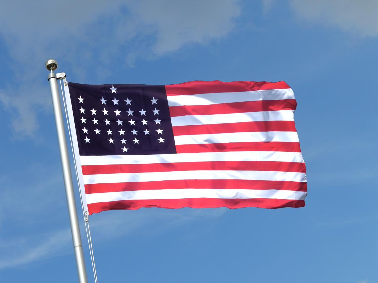 USA 33 stars - 3x5 ft ...