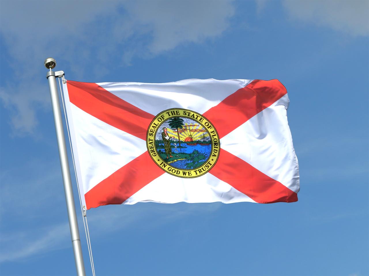 Flagge Von Florida