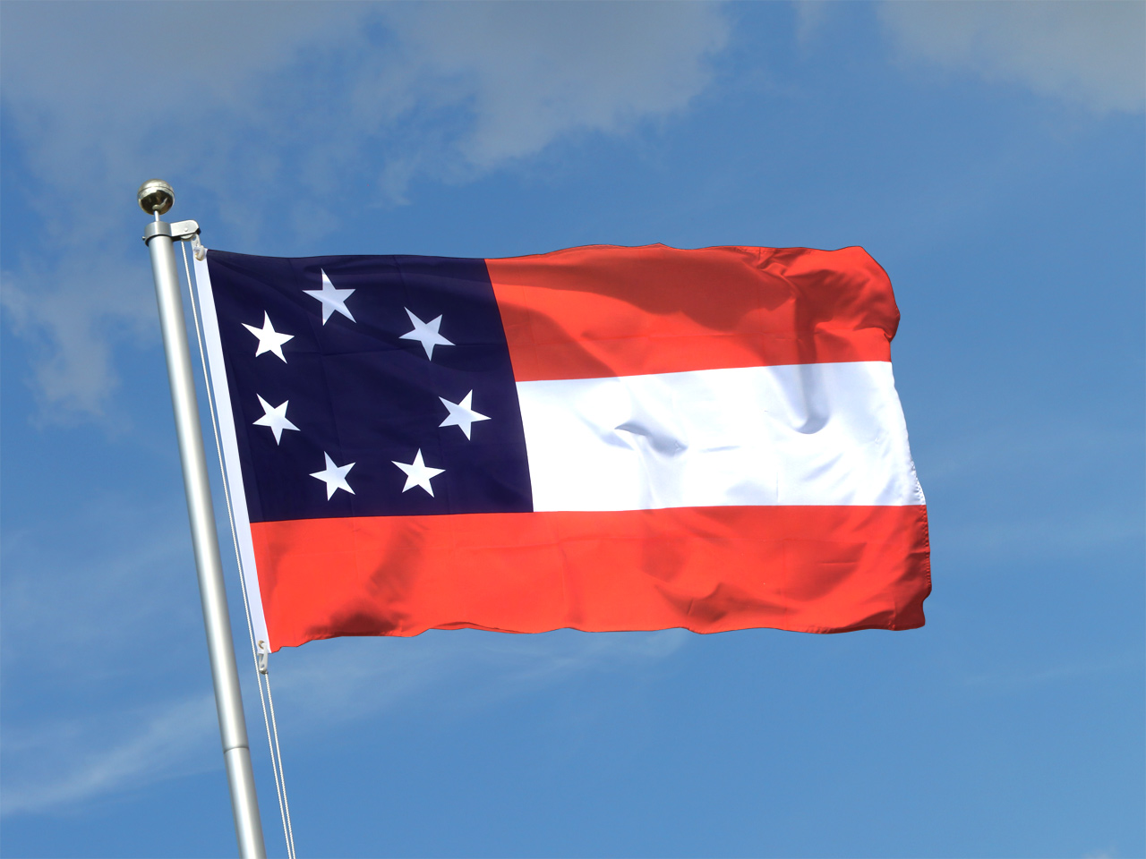 Buy USA Southern United States Stars and Bars 1861 Flag ...