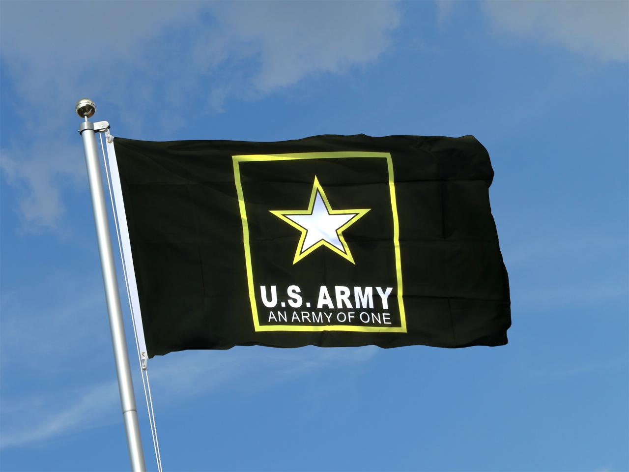 usa us army star flagge kaufen 90 x 150 cm flaggenplatz shop. Black Bedroom Furniture Sets. Home Design Ideas