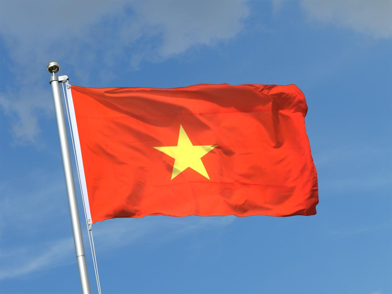 An Ma Vietnam  city pictures gallery : Drapeau Viêt Nam Vietnam 90 x 150 cm M. des Drapeaux