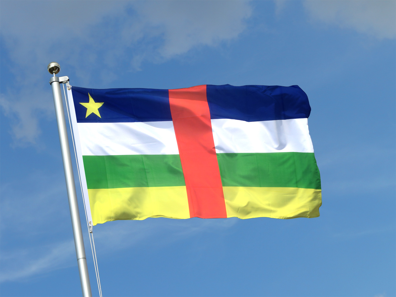 Buy Central African Republic Flag - 3x5 ft - Royal-Flags