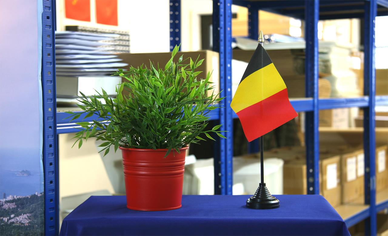 mini drapeau belge - monsieur-des-drapeaux
