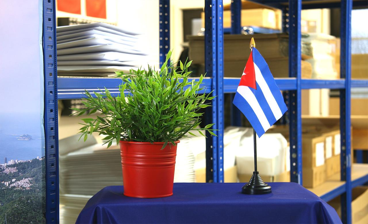 Kuba tischfahne tischfahne tischf hnli kuba flaggen Kuba dekoration