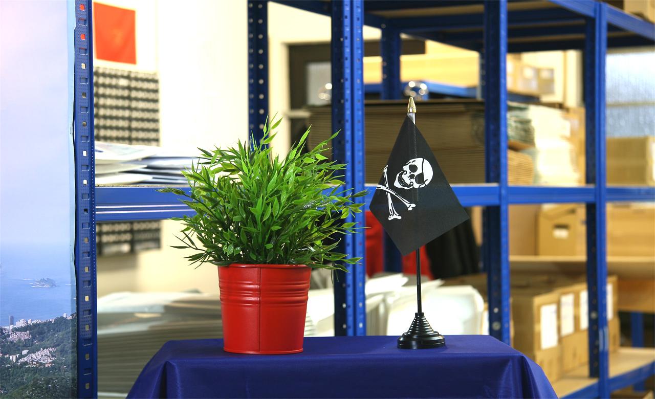 Mini drapeau pirate monsieur des drapeaux - Monsieur pirate ...