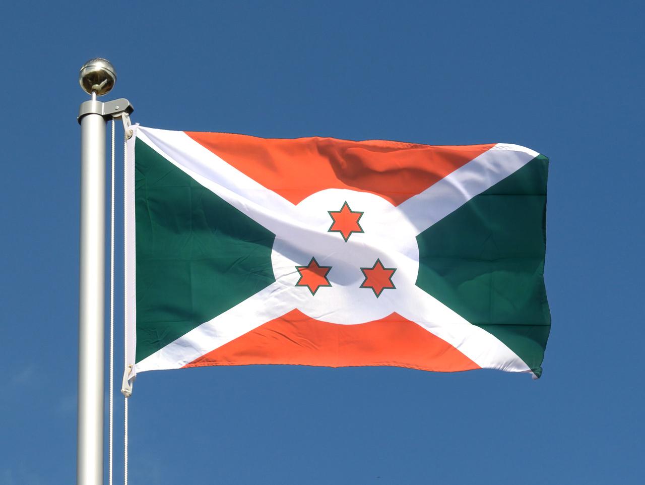 Cheap Burundi Flag - 2x3 ft - Royal-Flags