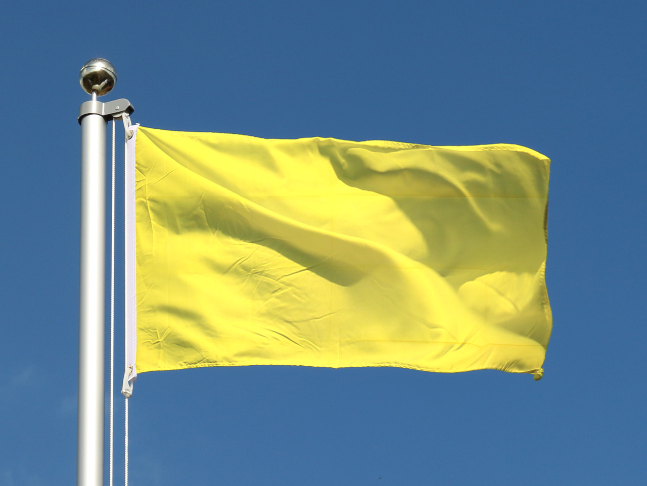 Günstige Gelbe Flagge - 60 x 90 cm - FlaggenPlatz.de