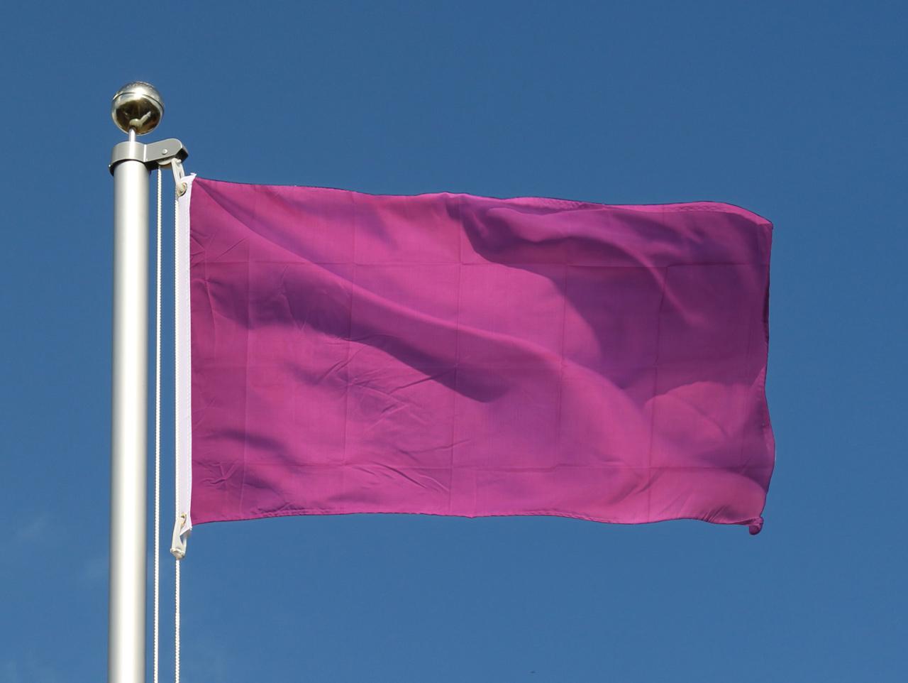 Drapeau pas cher lilas 60 x 90 cm monsieur des drapeaux for Drapeau publicitaire exterieur pas cher