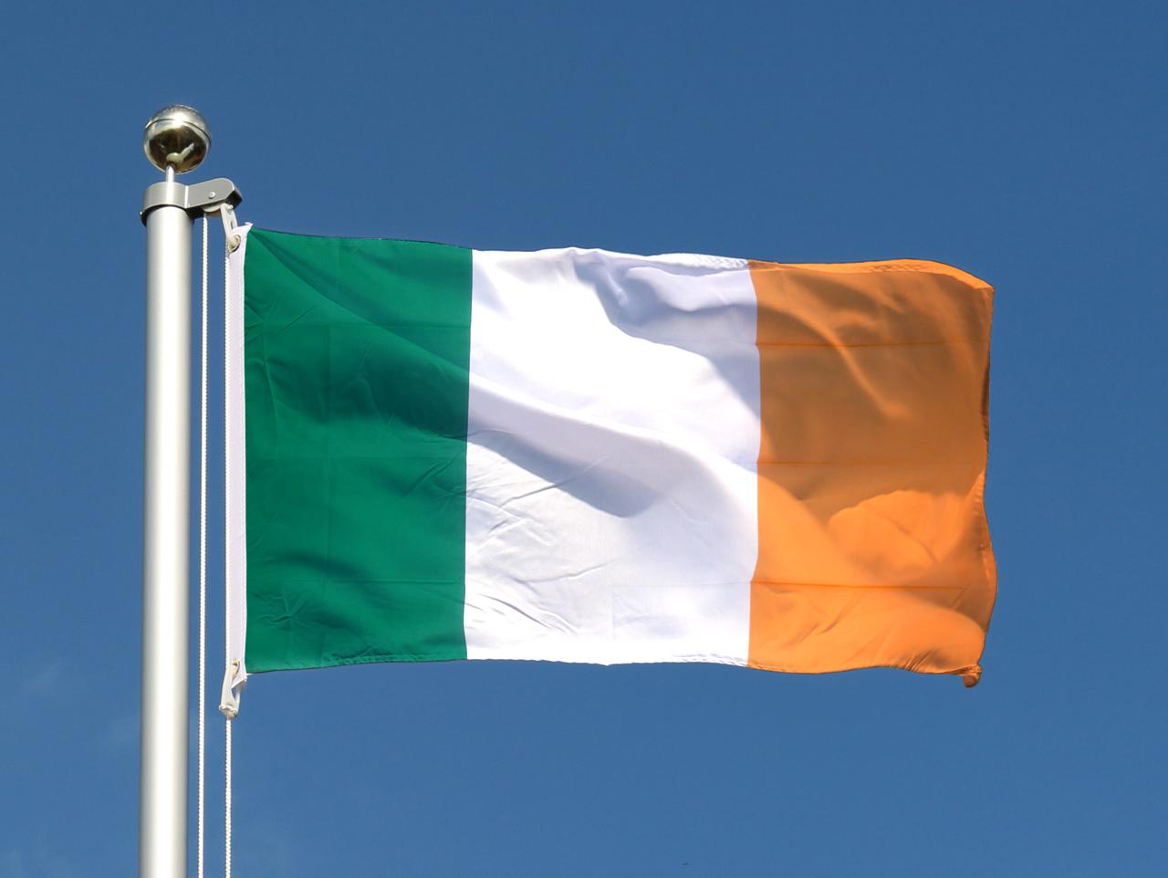 Drapeau irlandais pas cher 60 x 90 cm boutique de m for Drapeau publicitaire exterieur pas cher