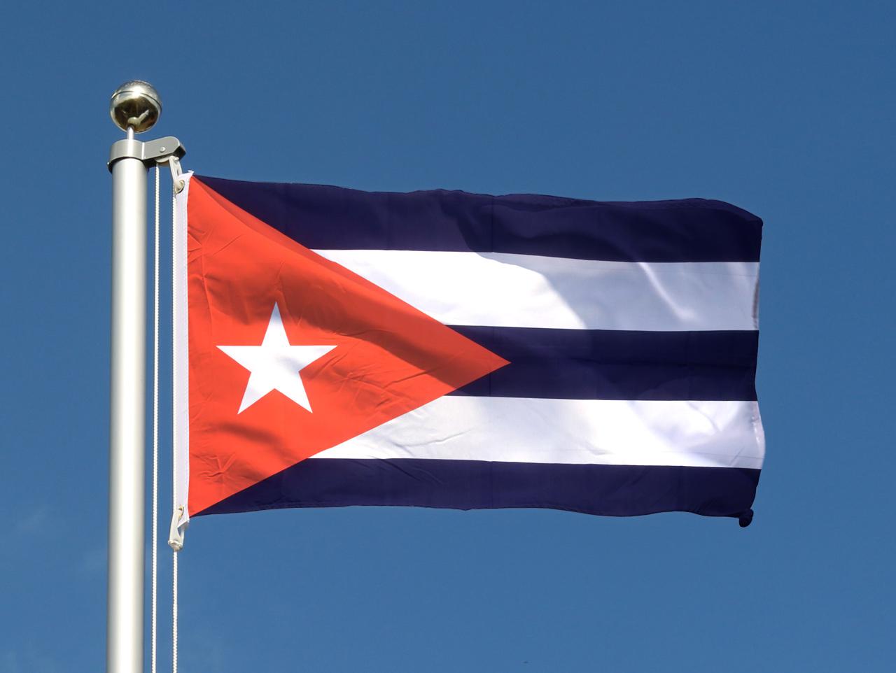Kuba flagge 60 x 90 cm flaggenplatz Kuba dekoration