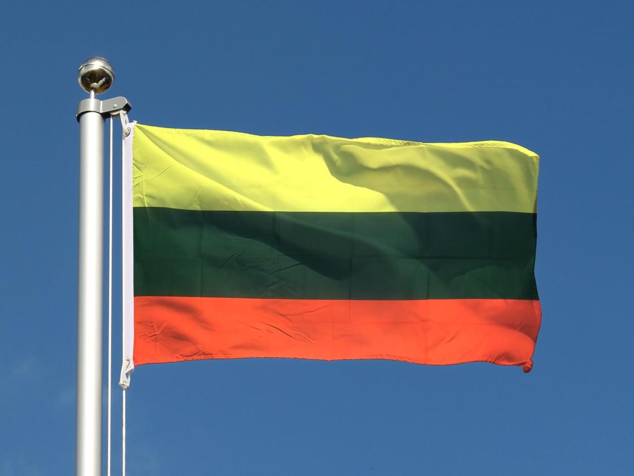 Drapeau pas cher lituanie 60 x 90 cm monsieur des drapeaux for Drapeau publicitaire exterieur pas cher