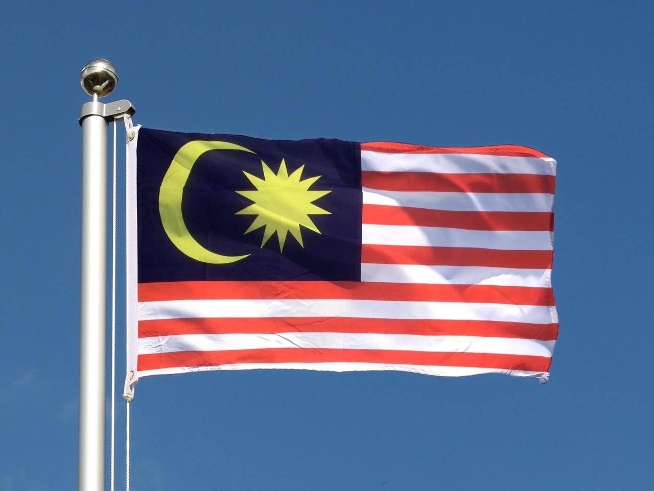 Drapeau pas cher malaisie 60 x 90 cm monsieur des drapeaux for Drapeau publicitaire exterieur pas cher