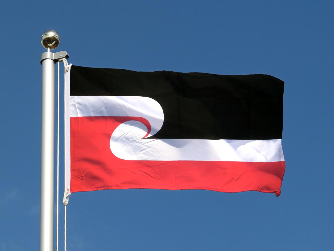 drapeau pas cher maori 60 x 90 cm monsieur des drapeaux. Black Bedroom Furniture Sets. Home Design Ideas