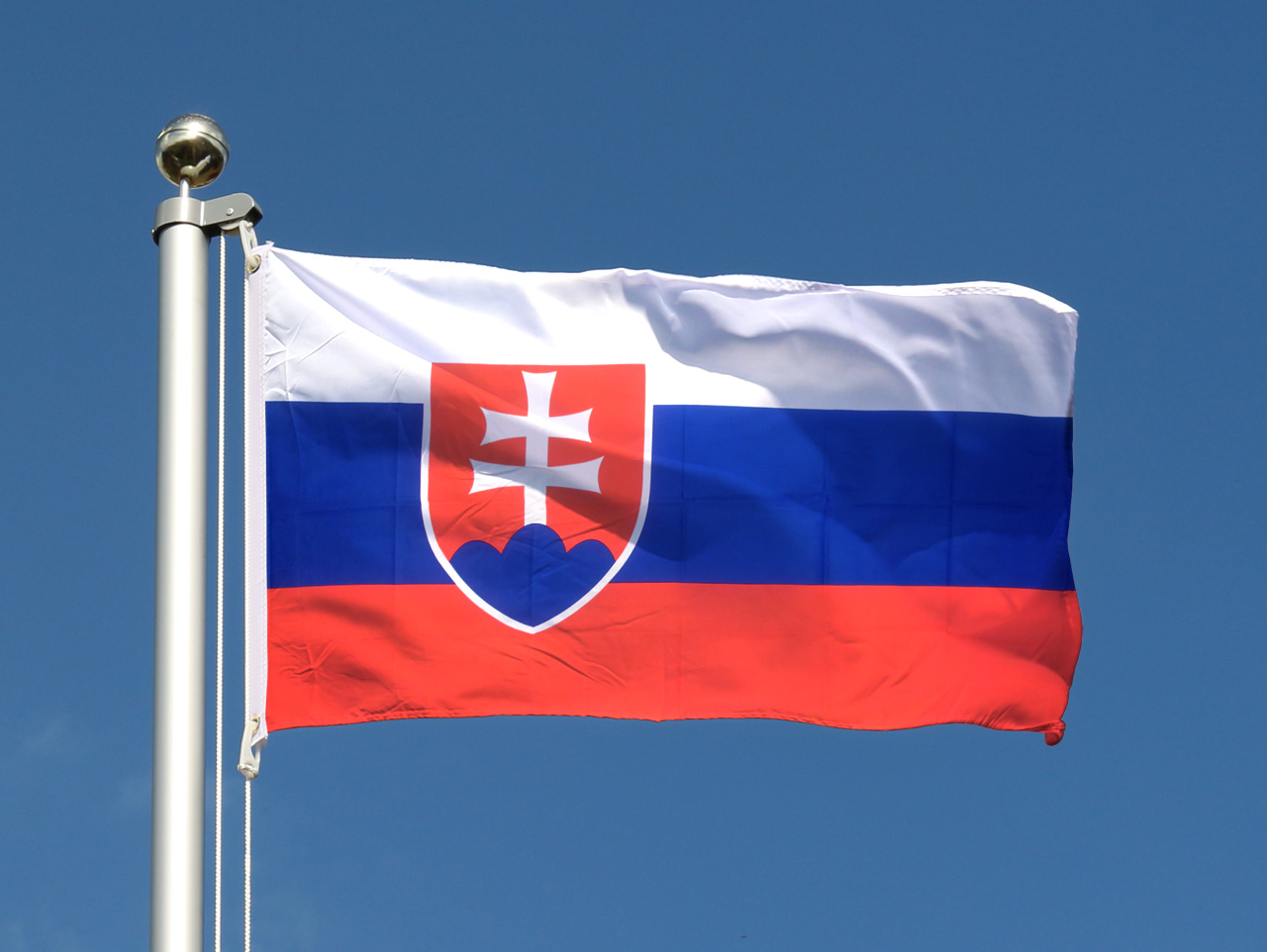 Drapeau Pas Cher Slovaquie 60 X 90 Cm Monsieur Des