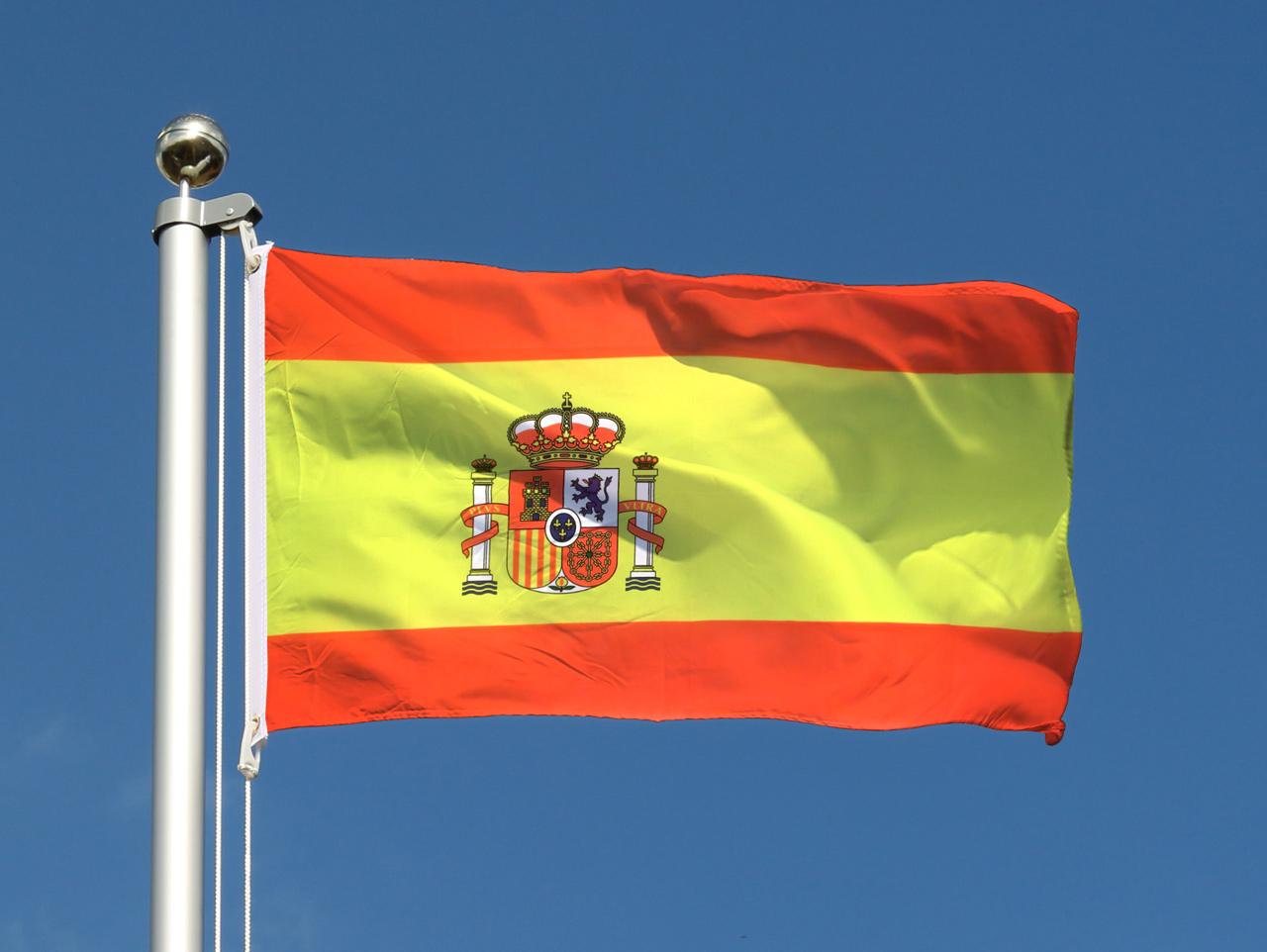 acheter drapeau espagnol pas cher 60 x 90 cm m des drapeaux. Black Bedroom Furniture Sets. Home Design Ideas