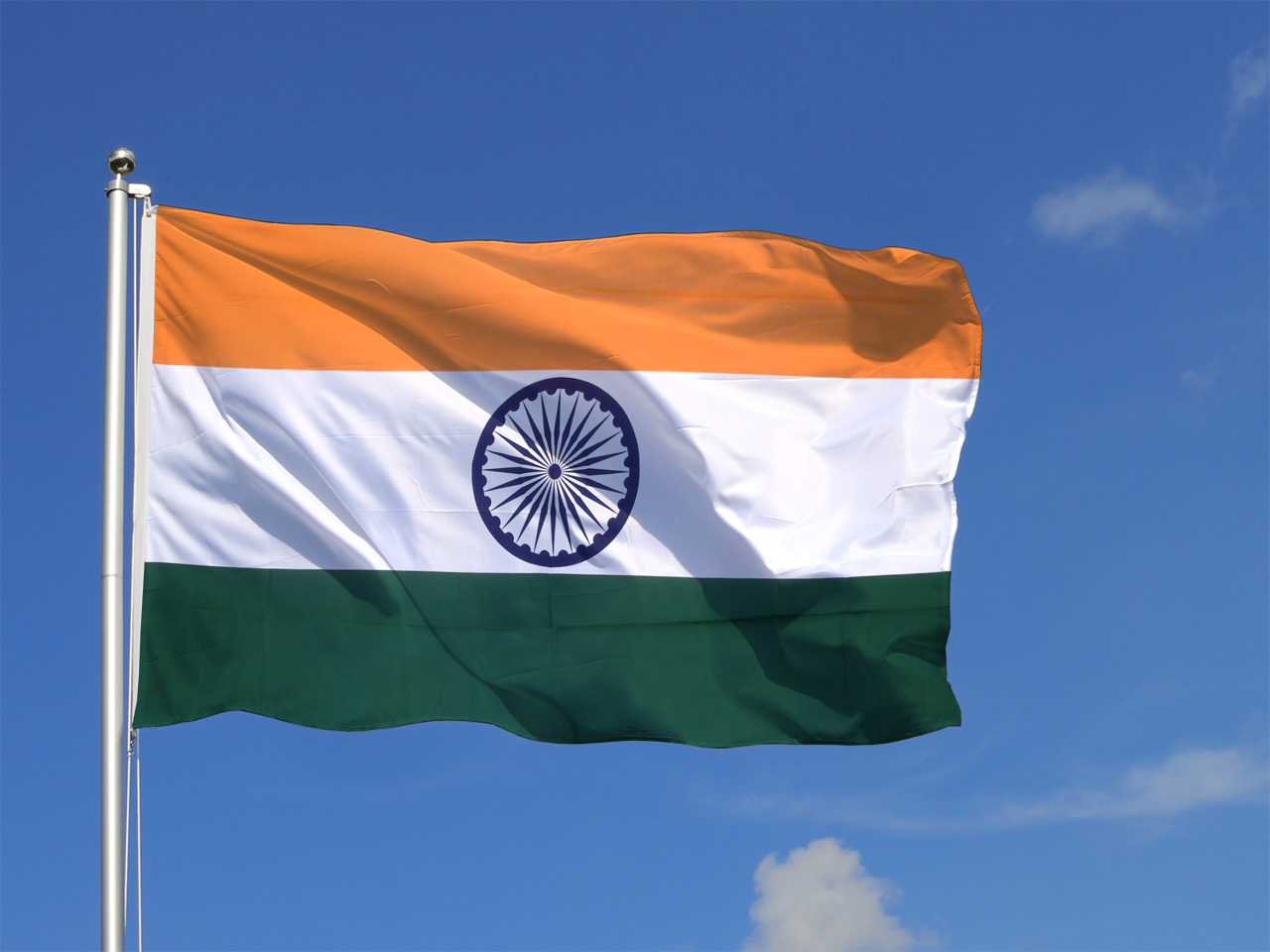 flag india flags 5x8 royal without decoration ft indian flagpole sold