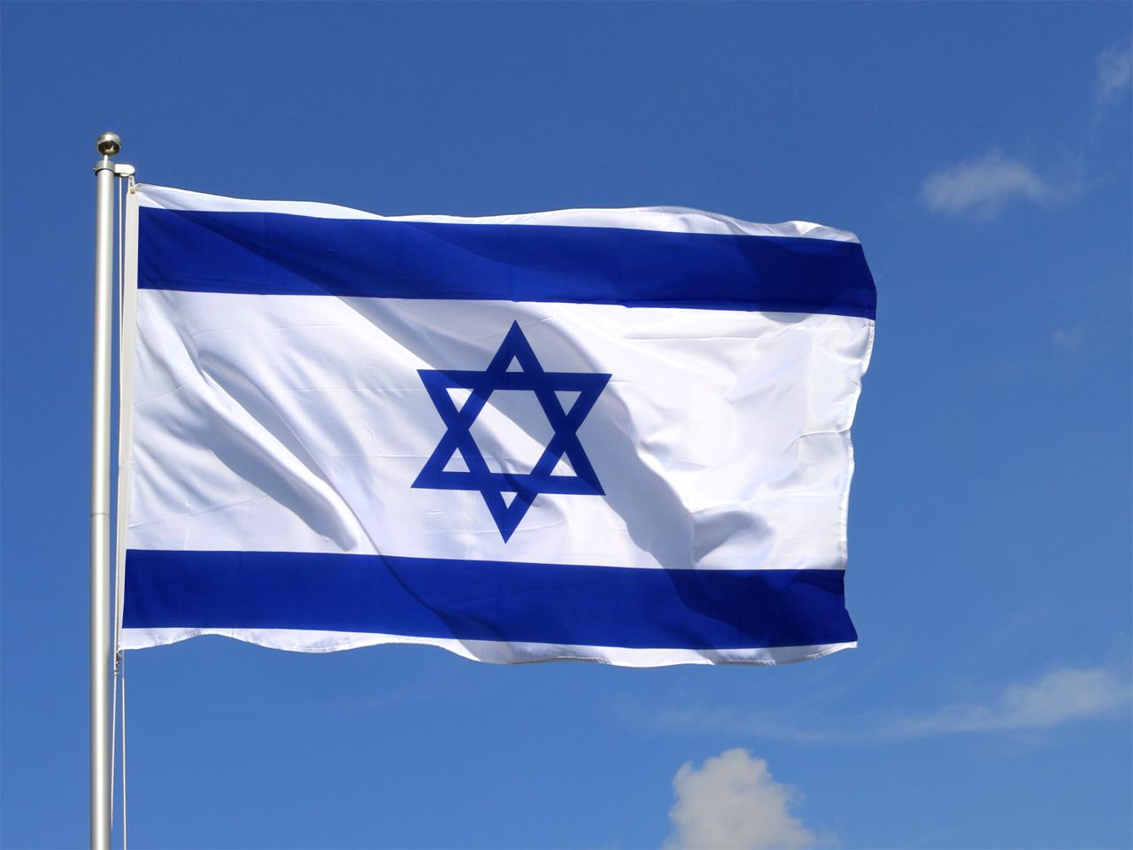 Large Israel Flag - 5x8 ft - Royal-Flags