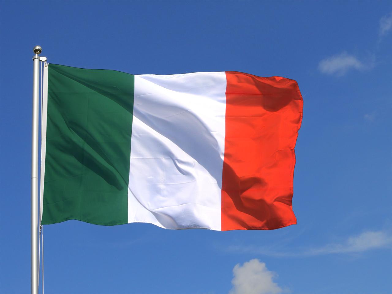 Italienische fahne farben