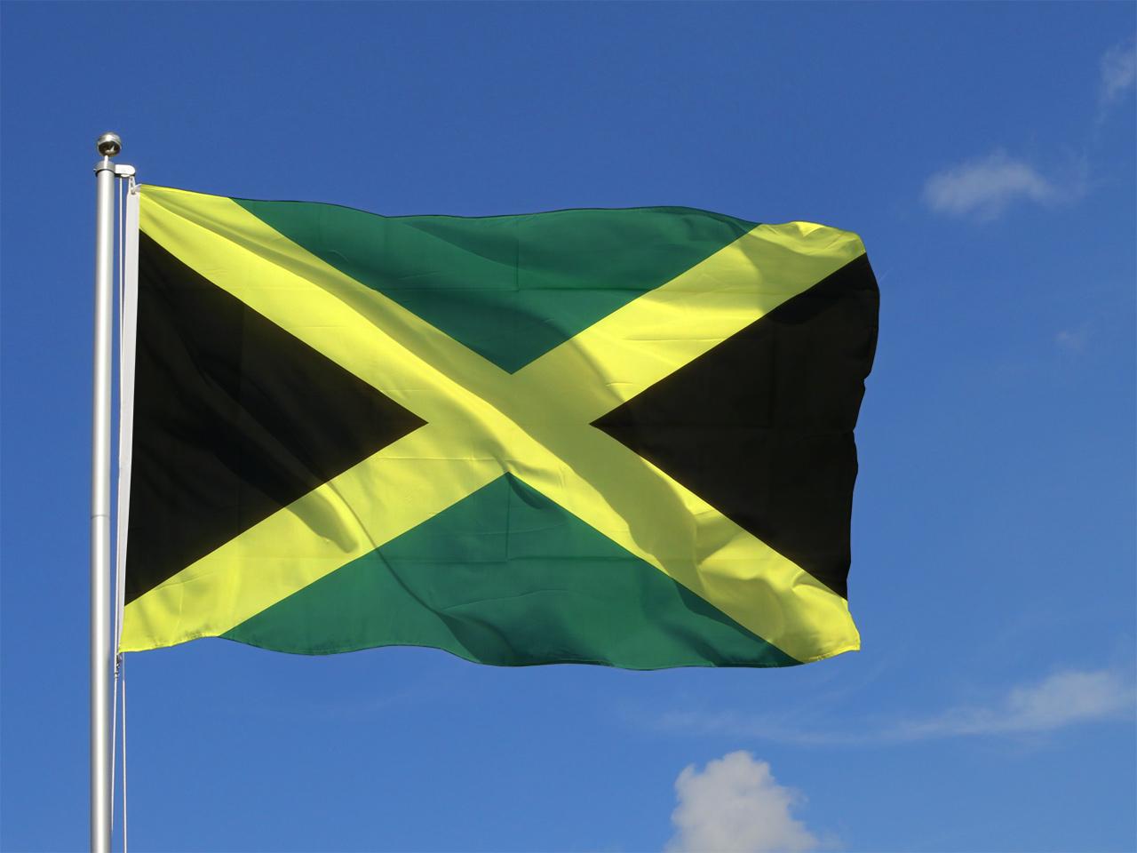 jamaican flag pole - photo #14