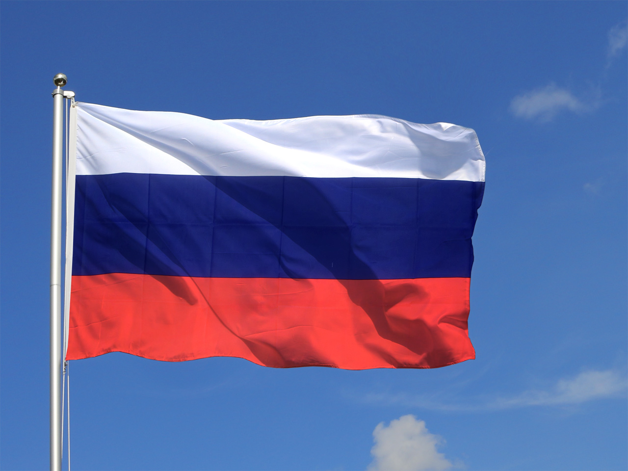 Russland Flage
