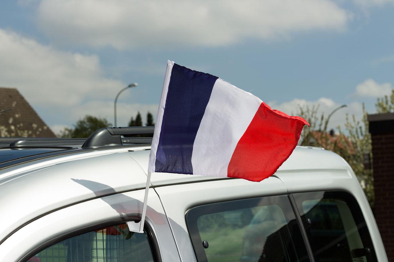 Frankreich autofahne 30 x 40 cm flaggenplatz for Frankreich dekoration