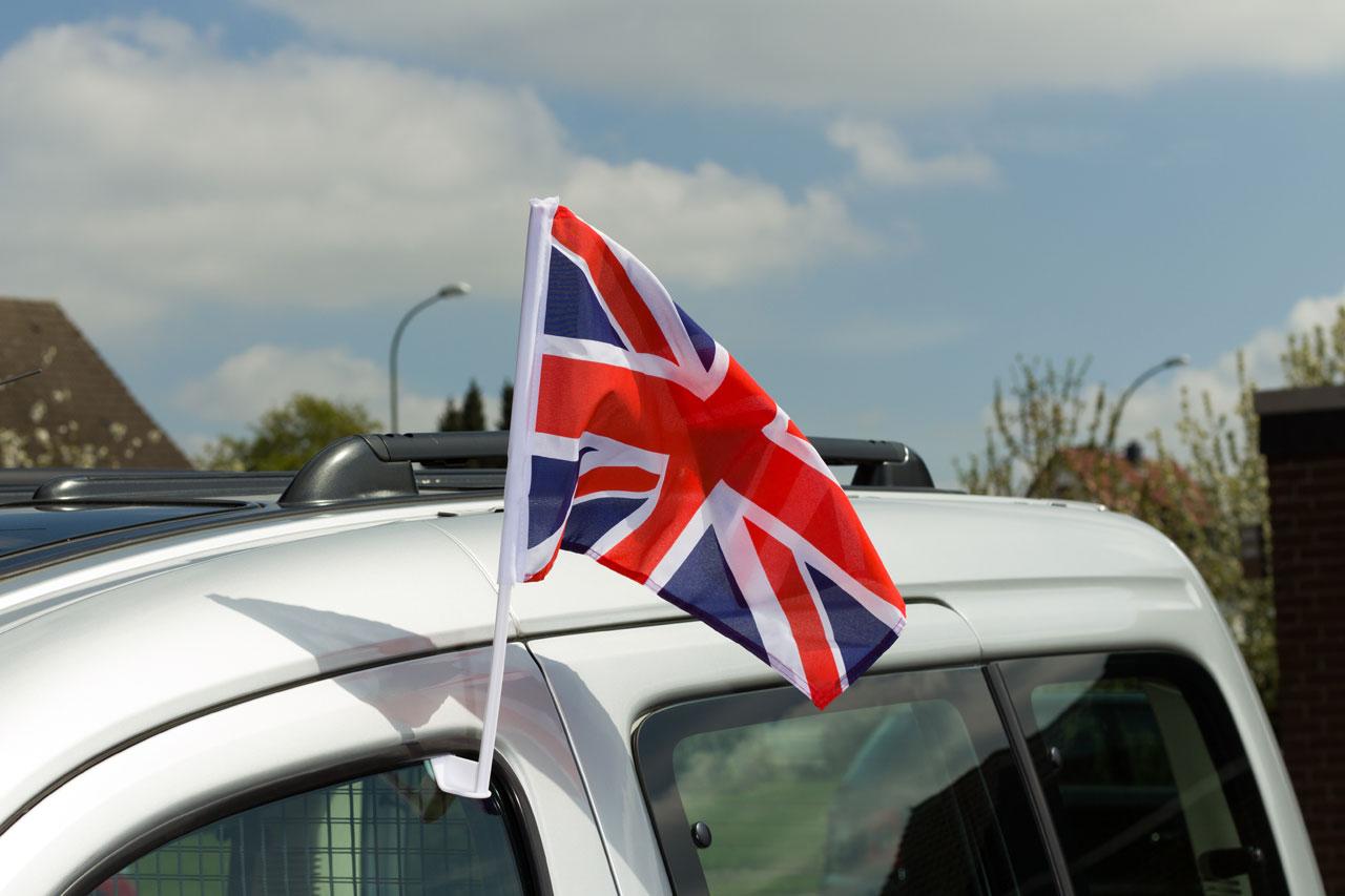 drapeau de voiture royaume-uni