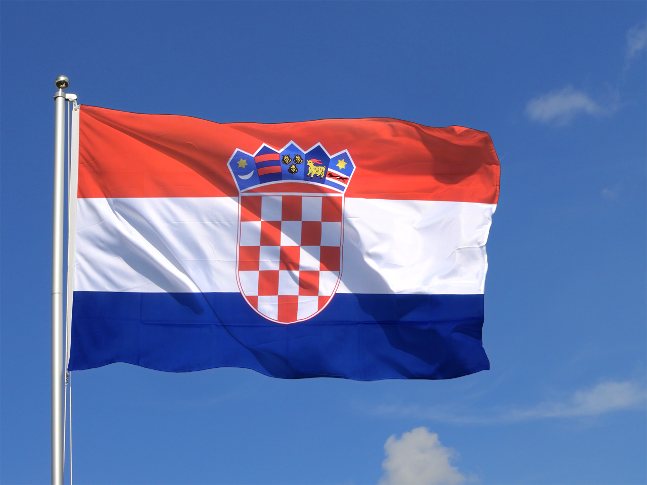 Large croatia flag 5x8 ft royal flags