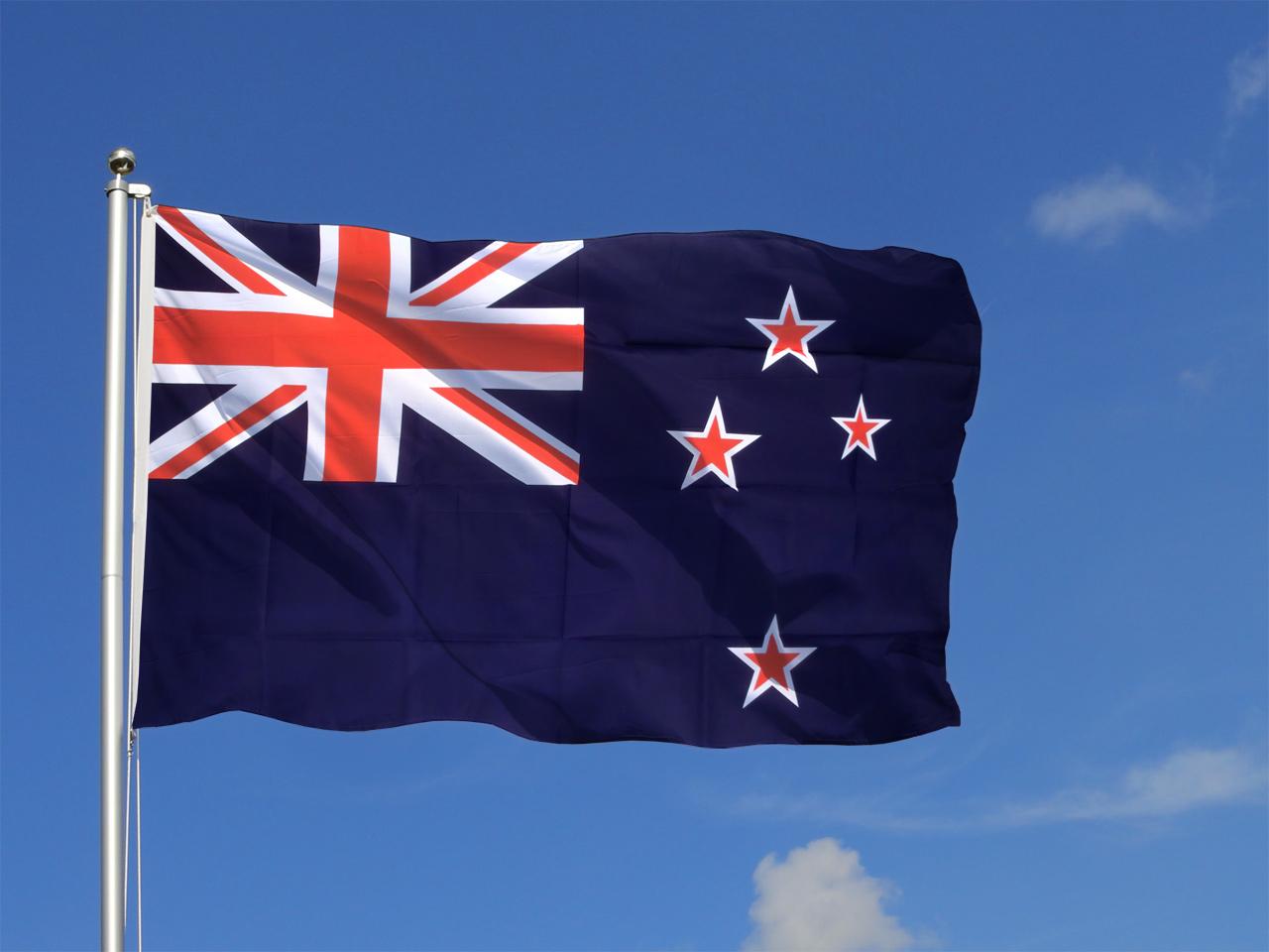 Large New Zealand (NZ) Flag - 5x8 ft - Royal-Flags.co.uk
