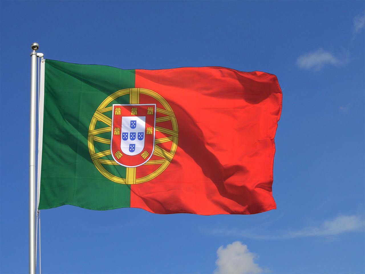 Grand drapeau portugais 150 x 250 cm m des drapeaux - Drapeau portugais a imprimer ...