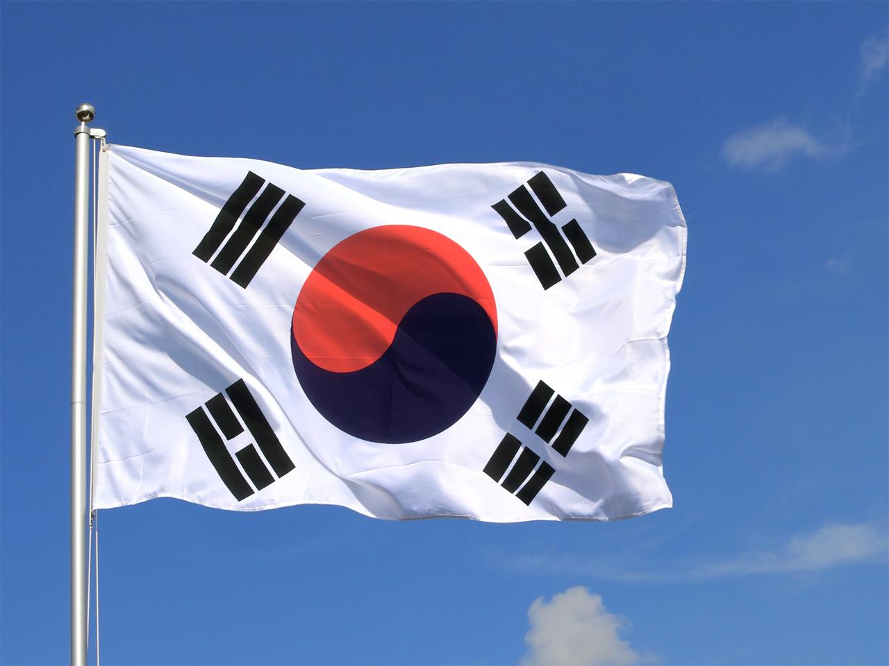 самой корея флаг фото поставить