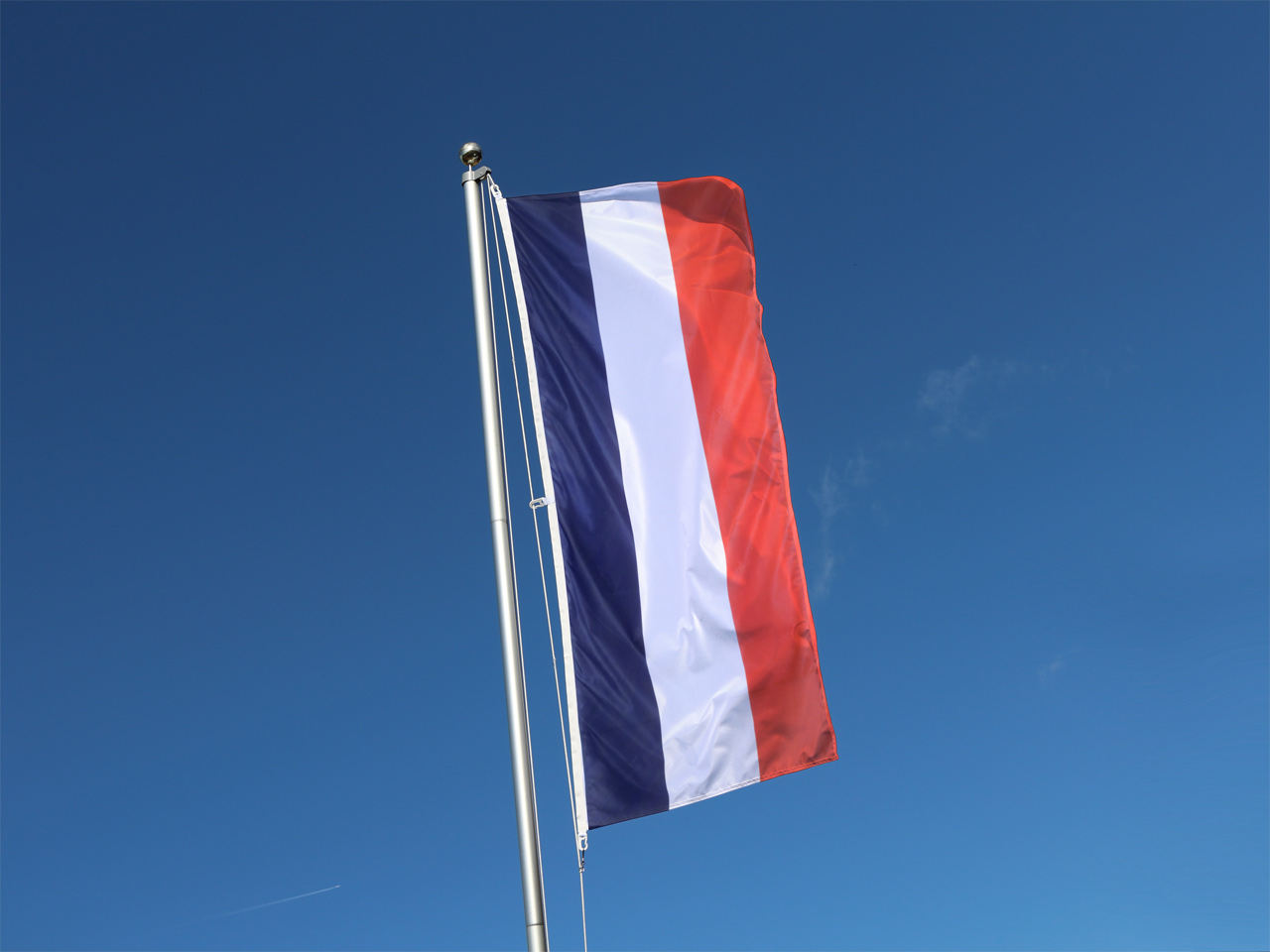drapeau vertical france - 80x200