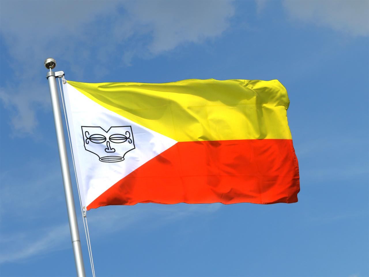 Frankreich marquesas inseln flagge fahne 90x150 cm im Dekoration frankreich