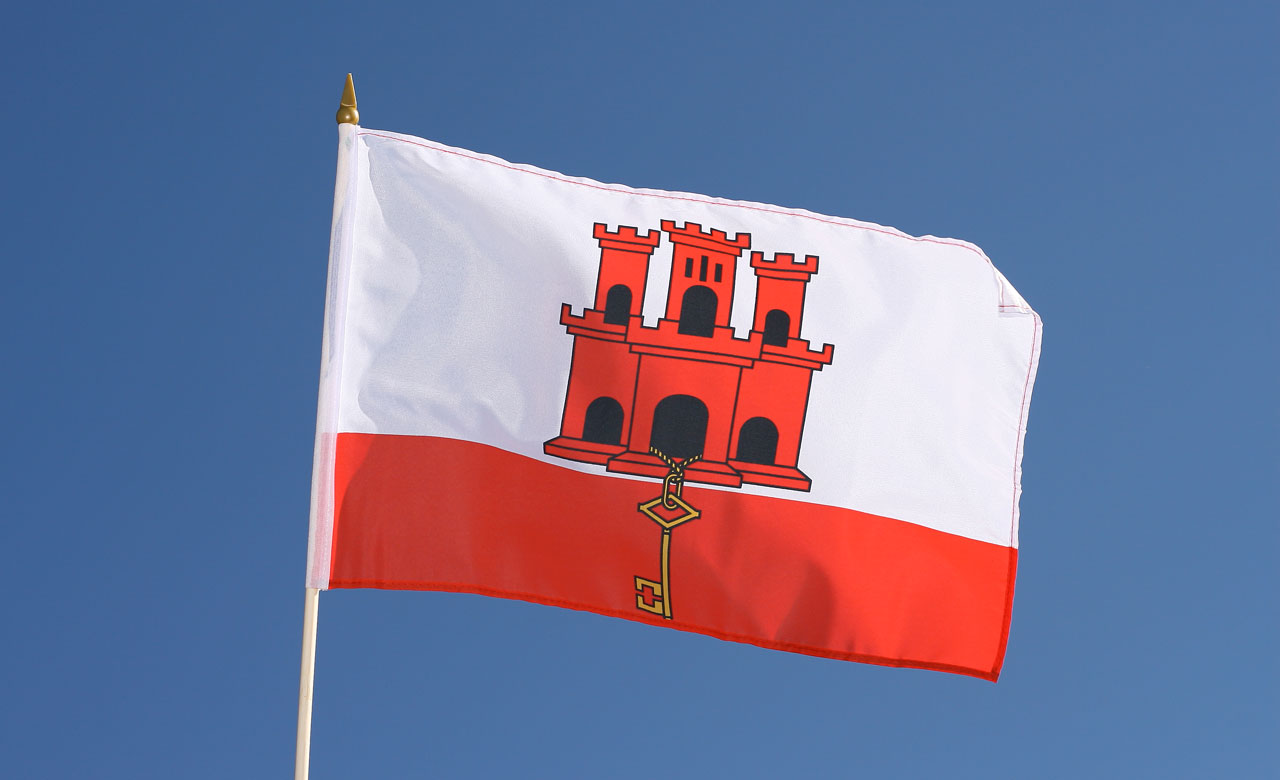 Image result for Gibraltar FLAG