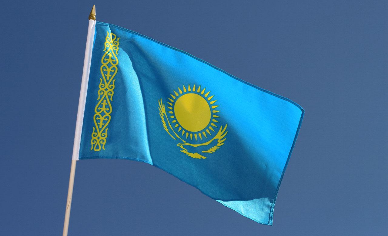 Фотографии флага казахстана