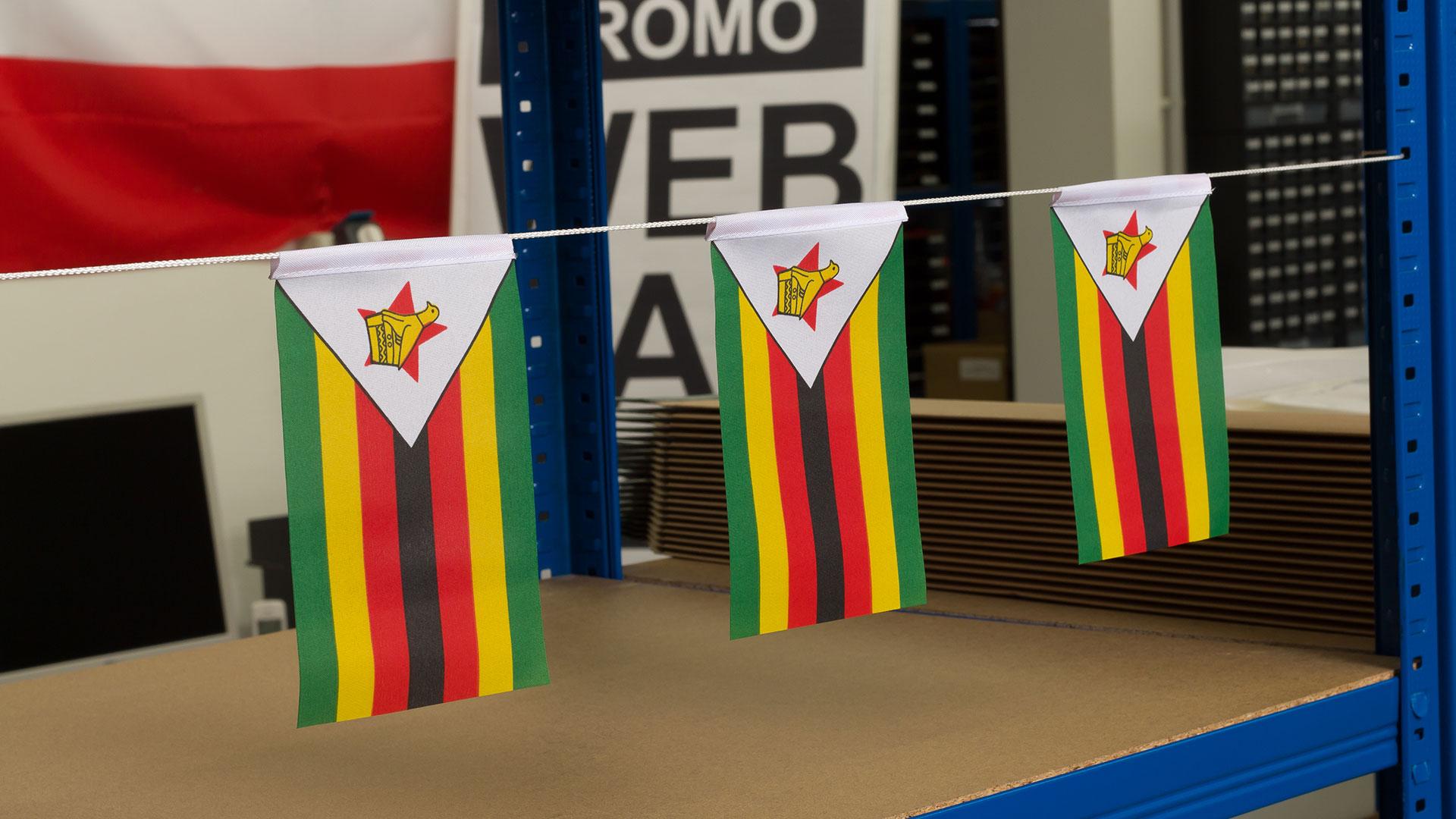 "Mini Flag Zimbabwe - 4x6"" - Royal-Flags"