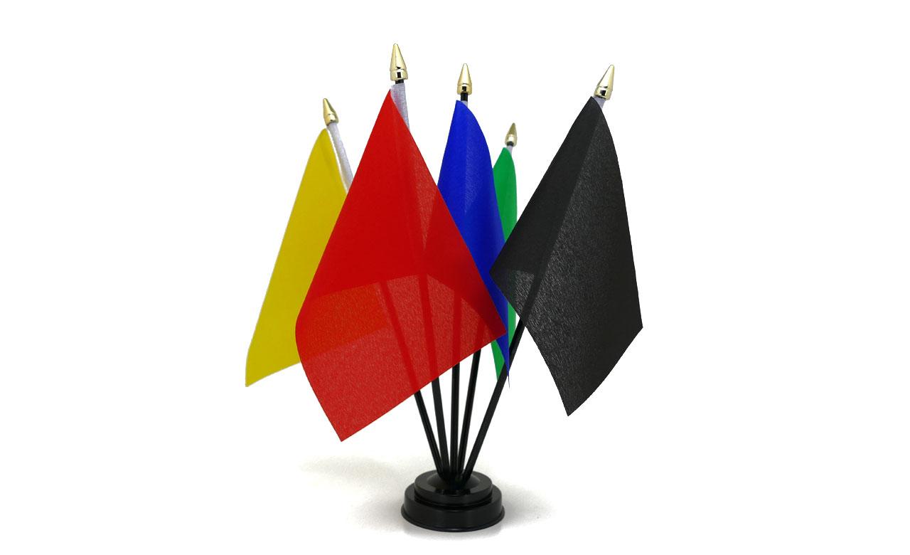 Flagge und Mast nicht im Lieferumfang enthalten