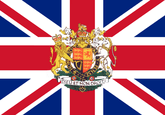 Great Britain with crest Flag